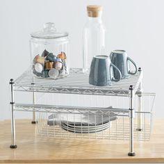 Wayfair Basics Wayfair Basics Mini Basket and Shelf Organizer
