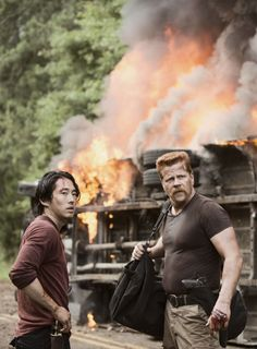 Abe and Glenn