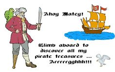 Pirate Theme Activities - lots of links