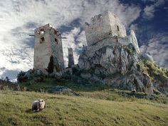 Castle of Csesznek (pron. chess-neck) #Hungary