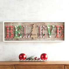Rustic Farmhouse Christmas Wall Decor - My Cozy Colorado Diy Christmas Decorations For Home, Cheap Christmas, Christmas Signs, Diy Christmas Gifts, Christmas Projects, Simple Christmas, Christmas Home, Holiday Crafts, Xmas