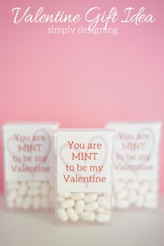 Valentine Printable and Gift Idea