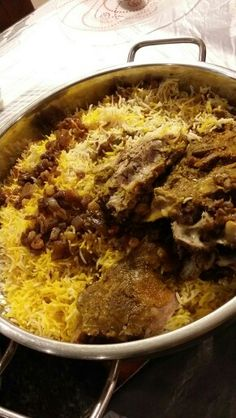 Rice with meat ( kuwaiti dish )