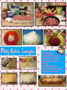 Picky Eaters Lasagna