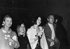La familia Newman acude al ballet en 1969.