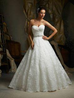 2014 White/ivory Lace Wedding dress Custom size 2-4-6-8-10-12-14-16-18-20+++2014