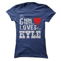 #girllovesherkyle #thisgirllovesher... Nice T-shirts (Cool Vintage Band T Shirts) This Girl Loves Her KYLE . Full-Tshirt  Design Description: This Girl Loves Her KYLE   If you don't utterly love this design, you'll SEARCH your favourite one by way of the use of search bar on the header....