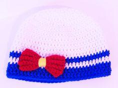 Sailor Moon Inspired Crochet Hat