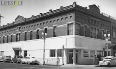 Elias Jacob - The Man and His Building. Pictured: The Elias Jacob Building, circa 1950.