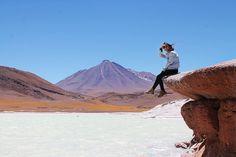 Deserto do Atacama - Lagunas Altiplânicas & Piedras Rojas | livre Latin America, South America, Trekking, Travel Goals, Bolivia, Patagonia, Travel Inspiration, Places To Go, Explore