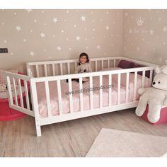 20 Ideas for baby bedroom diy decor Baby Bedroom, Girls Bedroom, Diy Bedroom Decor, Diy Toddler Bed, Toddler Rooms, Boy Room, Kids Room, Little Girl Rooms, Baby Cribs