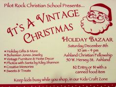 Join us at this amazing Christmas event!!