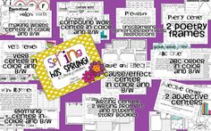 Step into 2nd Grade with Mrs. Lemons: Literacy Centers
