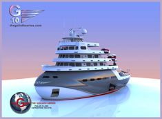 Explorer Yacht, Expedition Yachts, Yacht Design, Super Yachts, Shadowrun, Luxury Yachts, Water Crafts, Boating, Ships