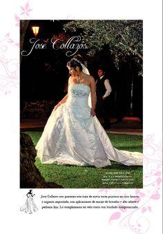 vestido: JOSE COLLAZOS foto: C & E PRODUCCIONES  bouquet: MONICA GOYTENDIA  novia: GIOVANNA CARDENAS