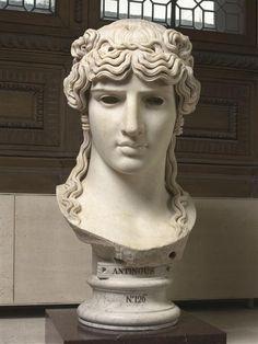 Musée du Louvre. Collection Borghèse. Antinoüs Mondragone. Vers 130 après J.-C. Italie. Marbre