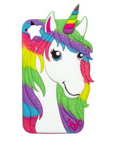 Silicone Unicorn Tech Case | Girls Tech Accessories Room, Tech & Toys | Shop Justice