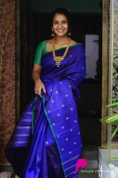 Wedding Silk Sarees Online Buy Kanchipuram Wedding Sarees Banarasi - House of Ayana Latest Silk Sarees, Indian Silk Sarees, Silk Sarees Online, Indian Beauty Saree, Indian Kurta, Ethnic Sarees, Blue Silk Saree, Bridal Silk Saree, Cotton Saree