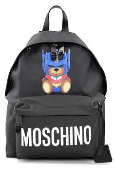 Moschino Moschino Moschino Transformer Faux-leather Backpack
