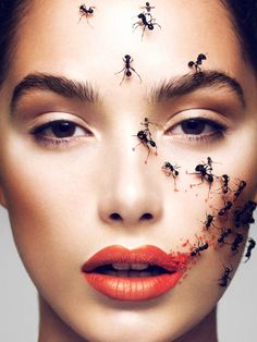 If you need a new idea for beauty, check out this editorial by makeup artist Elias Hove for Schön! Magazine #19.