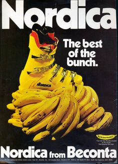 Banana Boot: The Nordica Grand Prix - was Nordica's first all-plastic, five buckle racing boot.