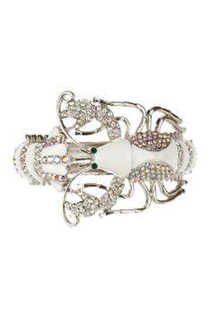 It's a lobster, it's a bracelet, it's fabulous!