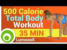 500 Calorie Workout No Equipment - YouTube