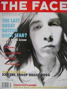 The Face magazine - Bobby Gillespie cover (February 1994 - Volume 2 No. 65)