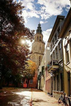Martinitoren Groningen Holland