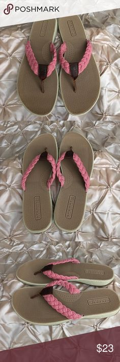 Sperry Top-Sider Tuckerfish Washd Rope Thong Sperry Top-Sider Tuckerfish Pink Washd Rope Sandals Thongs Sperry Top-Sider Shoes Sandals