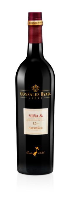 Amontillado Viña AB 12 años de Bodegas González Byass