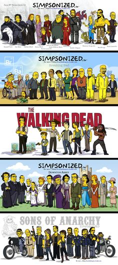 So THAT'S what they would look like as a Simpson. Comic Books, Comics, Cover, Movie Posters, Art, Noodle, Popcorn Posters, Kunst, Comic Book