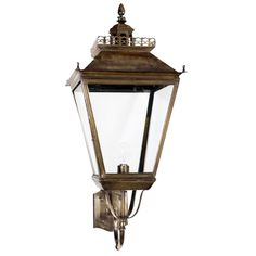 Landelijke Large Chateau Wall Lantern van Windsor kopen | LampenTotaal