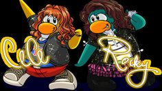 club penguin rocky and cece