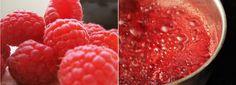Honey sweetened raspberry jam with chia seeds
