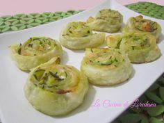 Girelle con salmone e zucchine