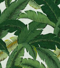 Home Decor Print Fabric-Tommy Bahama  Swaying Palms Aloe