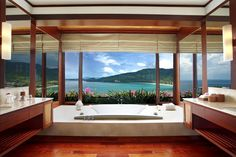 Discover your own personal paradise at Villas, nestled on a lush tropical hillside above Kamala Beach. Overlooking the endless blue of the Andaman Sea, this Phuket boutique hotel offers the pinnacle of tropical living with private infinity pools, world-class service, and exclusive,