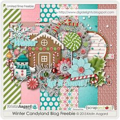 Thursday's Guest Freebies ~ Kristin Aagard  ✿ Follow the Free Digital Scrapbook board for daily freebies: https://www.pinterest.com/sherylcsjohnson/free-digital-scrapbook/ ✿ Visit GrannyEnchanted.Com for thousands of digital scrapbook freebies. ✿