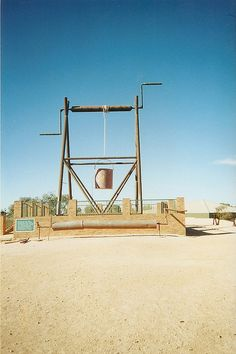 'The Big Winch', Coober Pedy, South Australia • aussie big things • in cooper pedy Australia's famous opal field • Adelaide's highlights