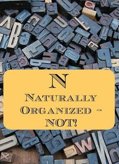 Naturally Organized - Not! on Homeschool Coffee Break @ http://kympossibleblog.blogspot.com  Here are a few tips for homeschool organization,…