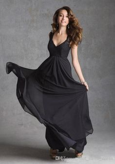 2014 New Plus Size Floor Length Vneck Aline Crochet Slim Black Wedding Bridesmaid Dresses Soft Pageant Ball Gown Prom/Evening Custom Made Baby Pink Bridesmaid Dresses Beach Wedding Bridesmaid Dresses From Hot_sales_dress, $83.22| Dhgate.Com