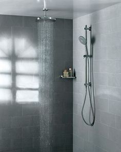 Artos Ceiling Mount Shower Head with Slide Bar Hand Shower