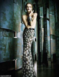 Beautiful skirt! Model: Daria Strokous   Photographer: Daniele & Iango - 'Haughty' for Vogue Italia, February 2013