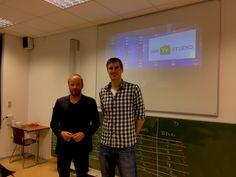 Gastvortrag von Michael Metzen, Gründer von DeinTVstudio.de im Rahmen der Vorlesung Gründungsmanagement