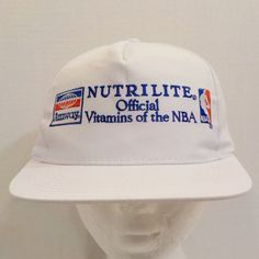 Nutrilite Amway Vitamins Official 1994 NBA Sponsor Vintage Snapback  Truckers Baseball Cap Hat Strapback by LouisandRileys on Etsy 8db134276ae6