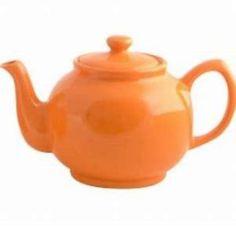 Price and Kensington Brights Orange 6 Cup Teapot Orange Tea, Light Orange, Orange Color, Colour, Chocolate Pots, Chocolate Coffee, Tea Varieties, Alice In Wonderland Tea Party, Happy Colors