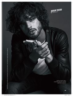 #18 #topmodels #esquire #top #editorial #men #fashion #b&w #blackandwhite #portrait #menfashion #photography #iconic #marlon #brazil  https://models.com/people/ivan-rasic