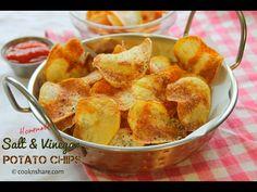 Homemade Salt and Vinegar Potato chips | Cook n' Share - World Cuisines