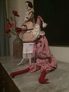 Bambola, interamente fatta a mano